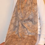 Cravaat II Snakeskin Long dining scarf adult bib