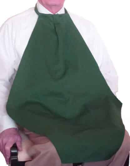 Adult Bib Napkin at Your Neck Hunter Green