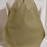 Adult Bib- Napkin at Your Neck- Khaki