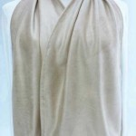 Adult Bib Dining Scarf- Cravaat Wide Ivory
