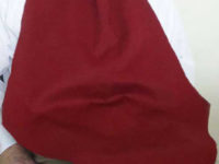 Adult Bib- Napkin at Your Neck-Large-Burgundy