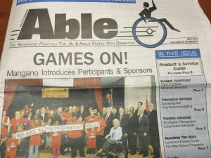 Able Newspaper Positively For, By & About People with Disabilities