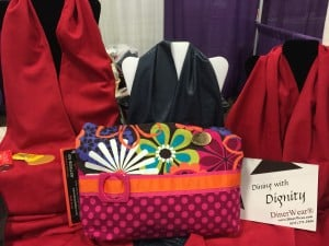 Walker Bags and Adult Bib Dining Scarves