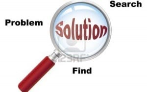 Finding solutions, image from quotesgram
