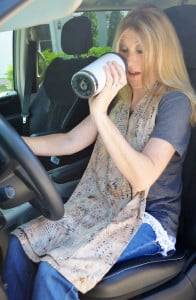 Cravaat adult bib dining scarf protects against spills