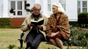 Reading to someone with Alzheimer's/Dementia can be therapeutic.